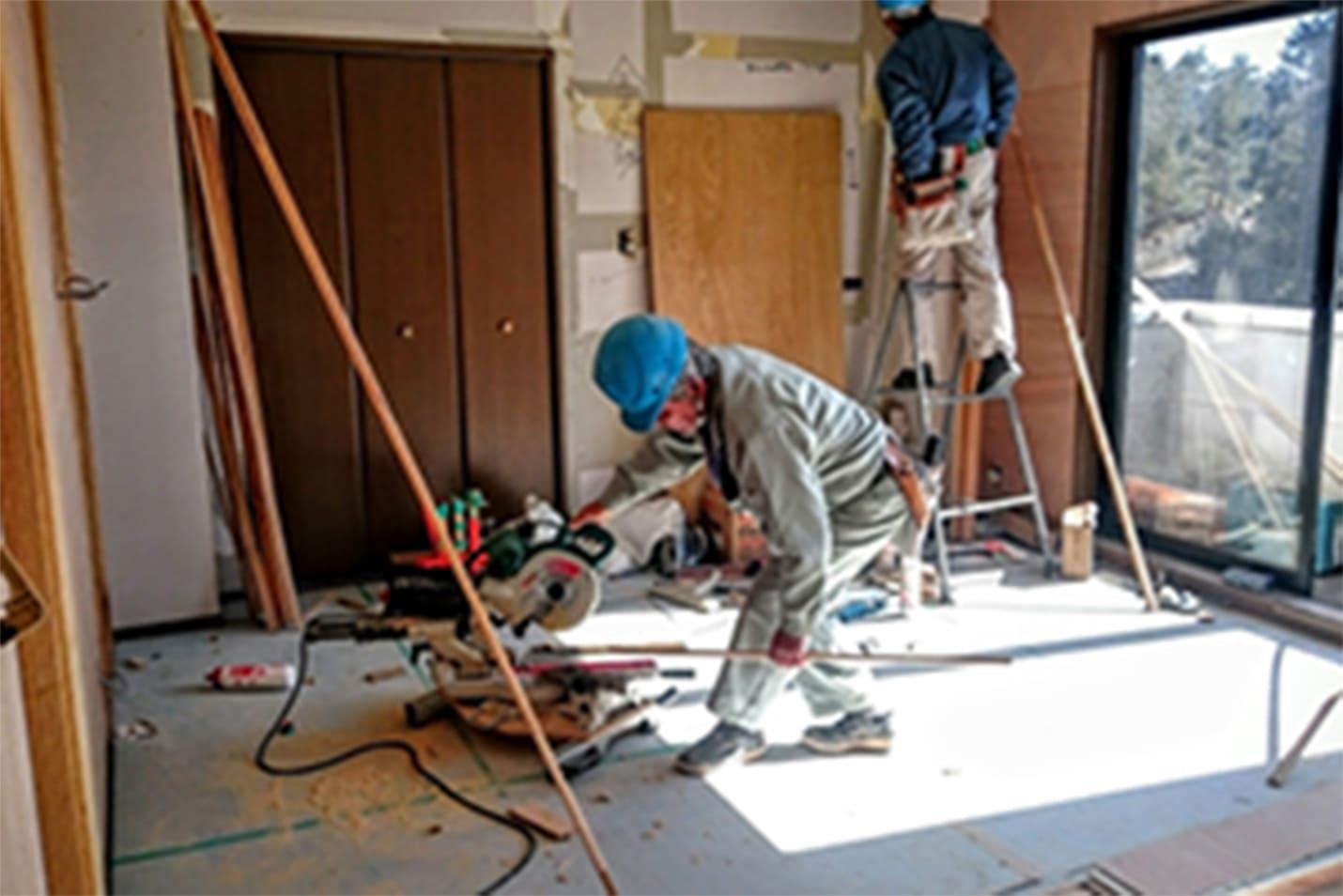 退室修繕工事・設備交換工事