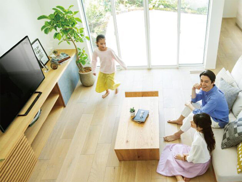 家族のこだわりがカタチになるオリジナルの室内空間